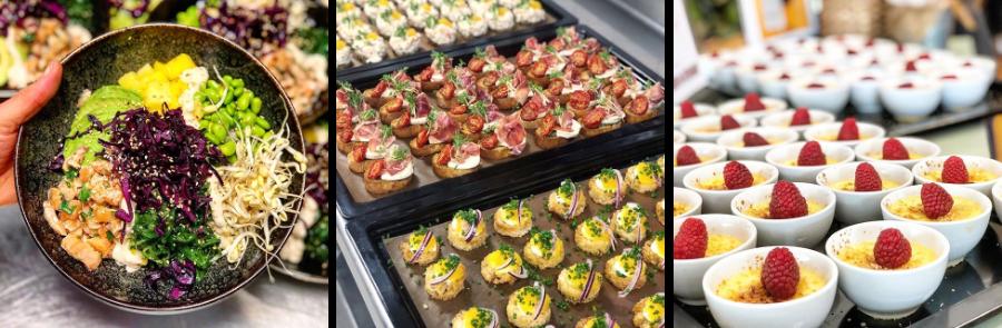 catering-södertälje-kollage-desserter-maträtter-luncher